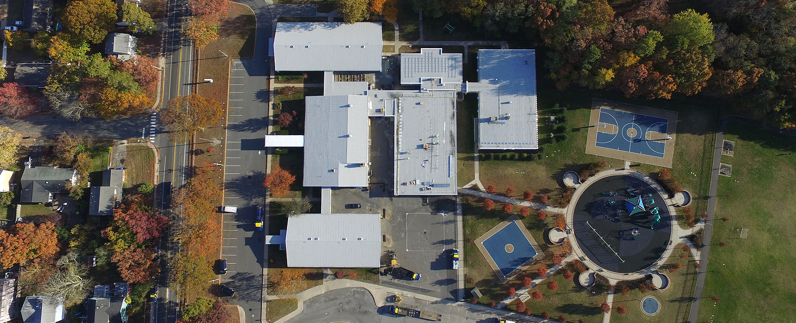 Brick Township Middle School Aerial Overhead
